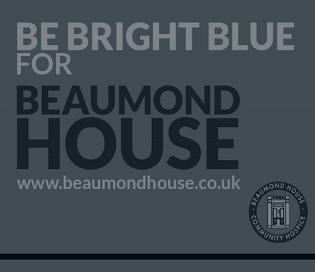 Be Bright Blue for Beaumond House!