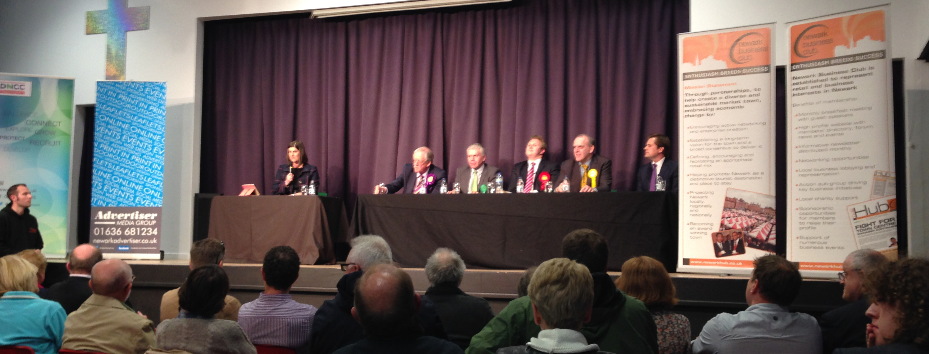Newark by-election Hustings