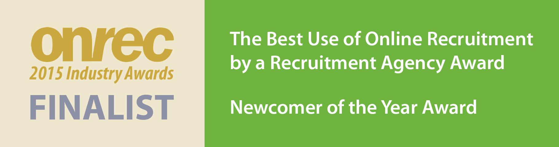 Onrec Online Recruitment Awards 2015